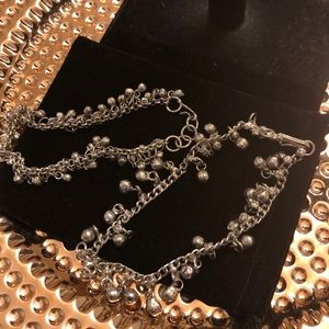 Jewelry - Boho tiny bell anklets or braclets NWOT